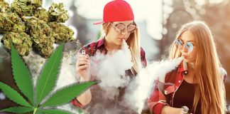 vaping girls