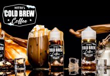 Review- Nitro's Cold Brew Coffee E-Liquids