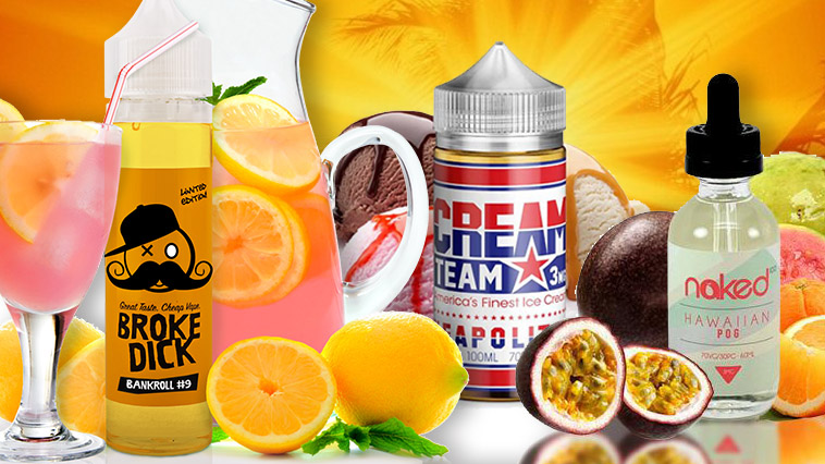 10 E-Liquids Perfect For The Summer
