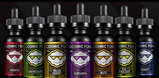 Review- Cosmic Fog E-Liquid