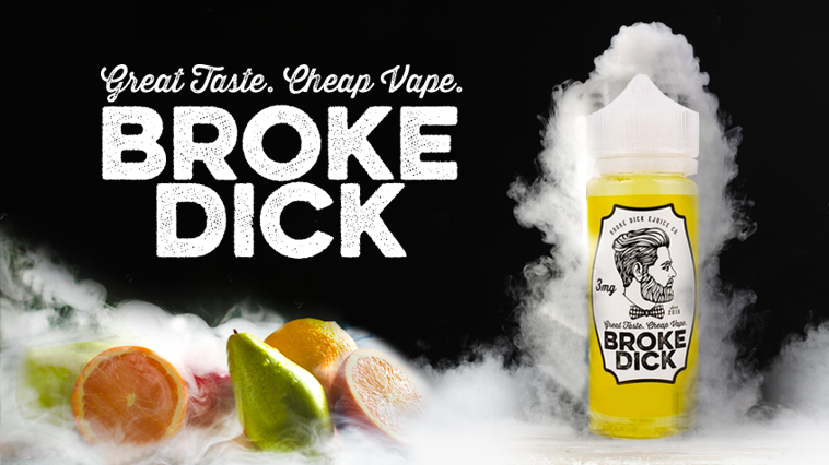 Broke Dick E-Juice | The 1st Review - Soupwire