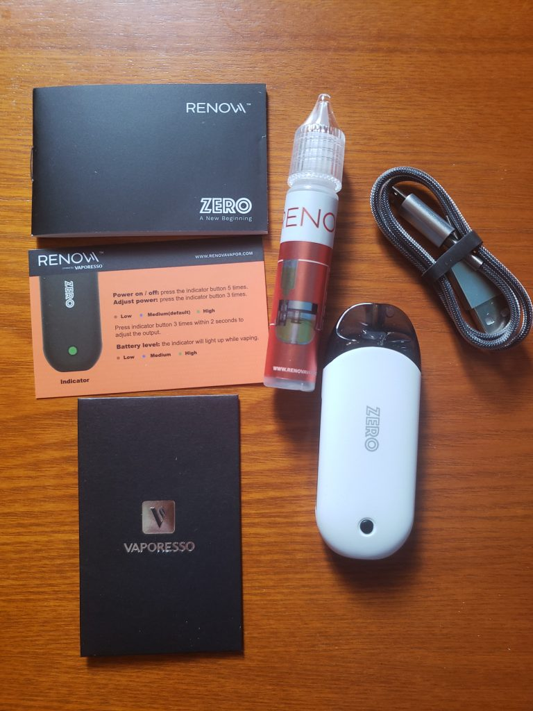 Vape Hardware Review: The Vaporesso Renova Zero Pod System